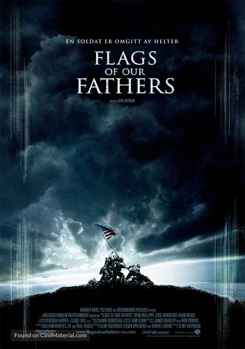 Flags of Our Fathers - Norwegian Movie Poster