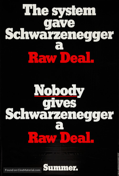 Raw Deal - Movie Poster