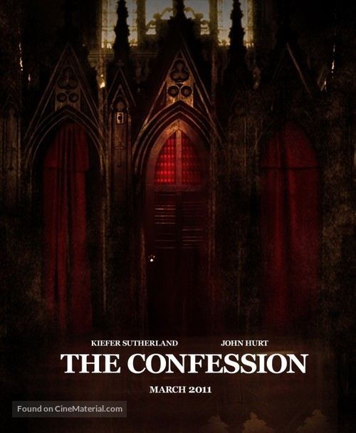 """""""The Confession"""" - Movie Poster"""