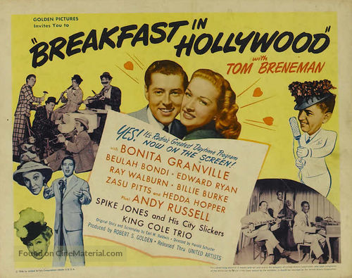 Breakfast in Hollywood - Movie Poster