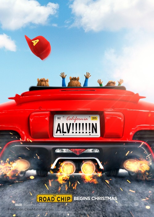 Alvin and the Chipmunks: The Road Chip - Teaser movie poster
