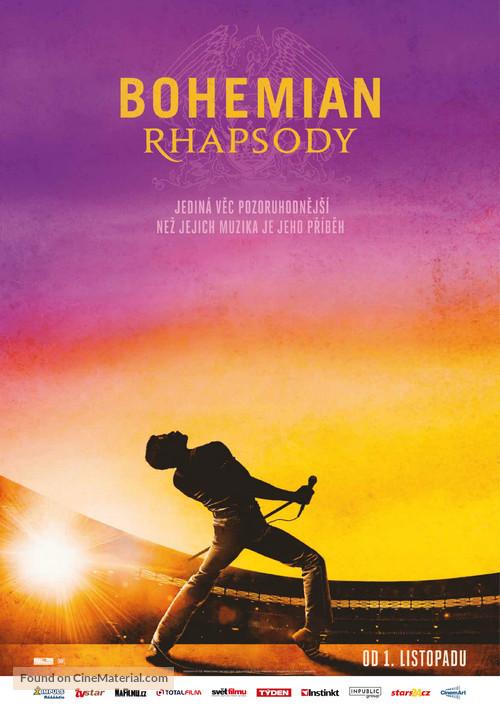 Bohemian Rhapsody - Czech Movie Poster
