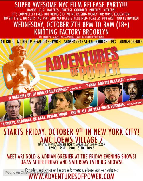 Adventures of Power - Movie Poster