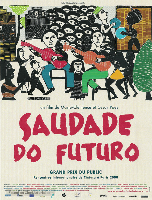 Saudade do Futuro - French poster