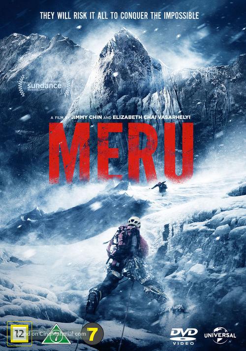 Meru - Danish DVD movie cover
