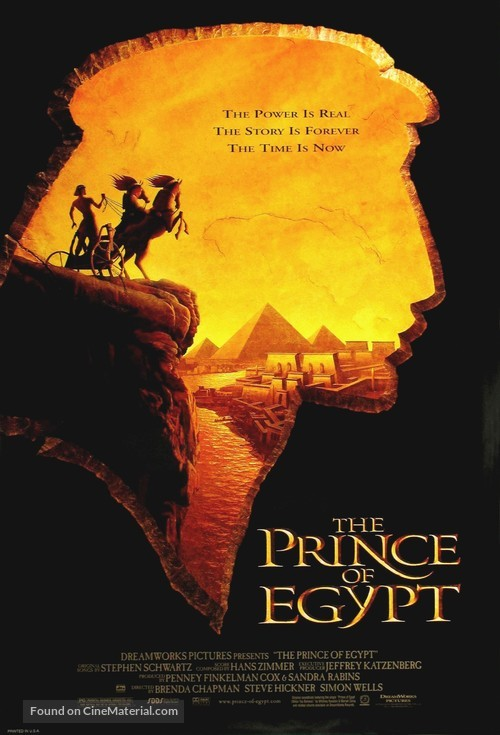 The Prince of Egypt - Movie Poster