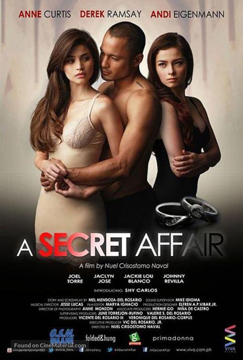 A Secret Affair - Philippine Movie Poster