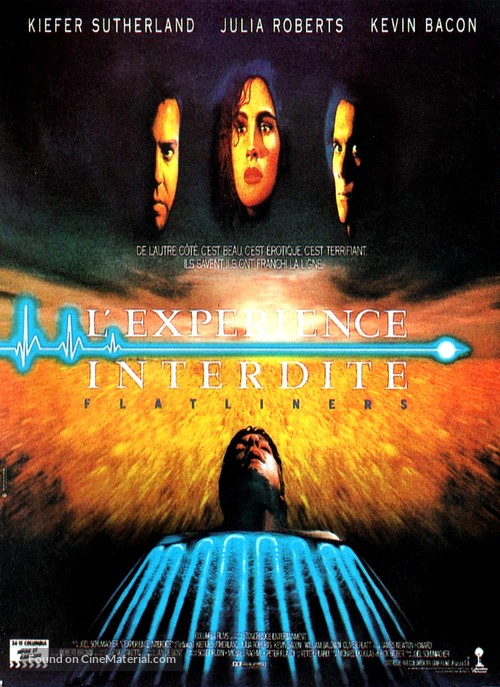 Flatliners - French Movie Poster