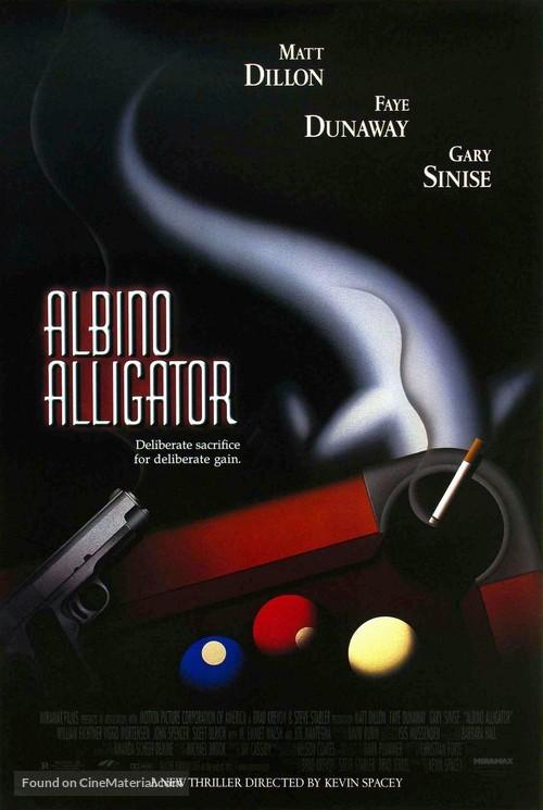Albino Alligator - Movie Poster