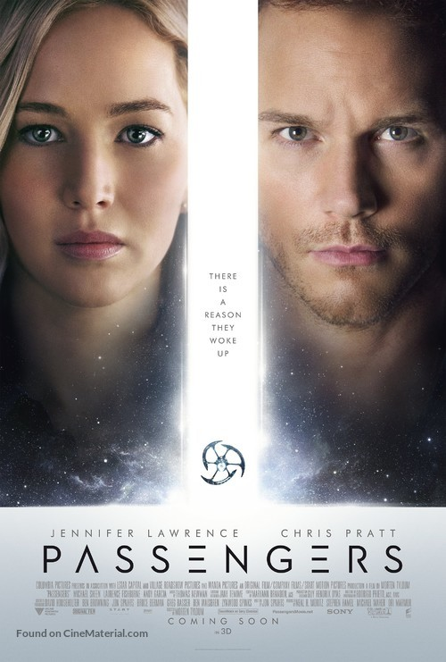 Passengers - Movie Poster