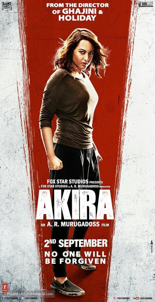 Naam Hai Akira (2016) Indian movie poster