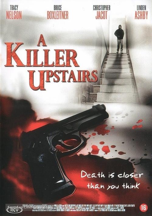 A Killer Upstairs - Dutch Movie Cover