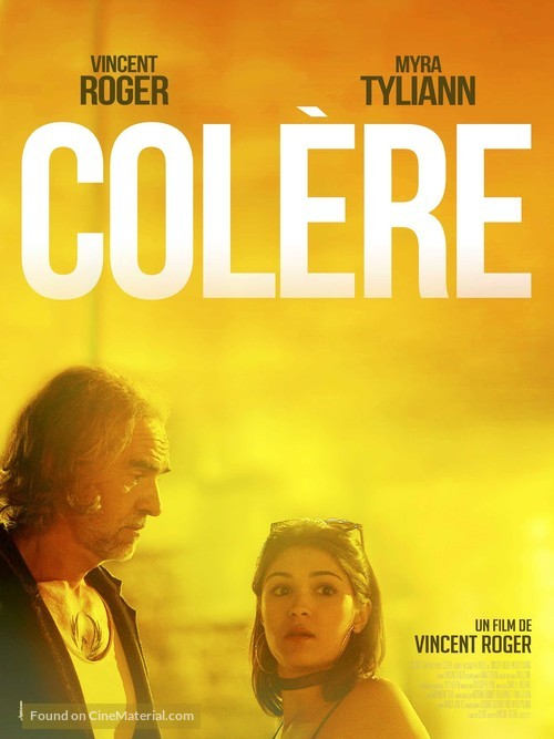 Colère - French Movie Poster