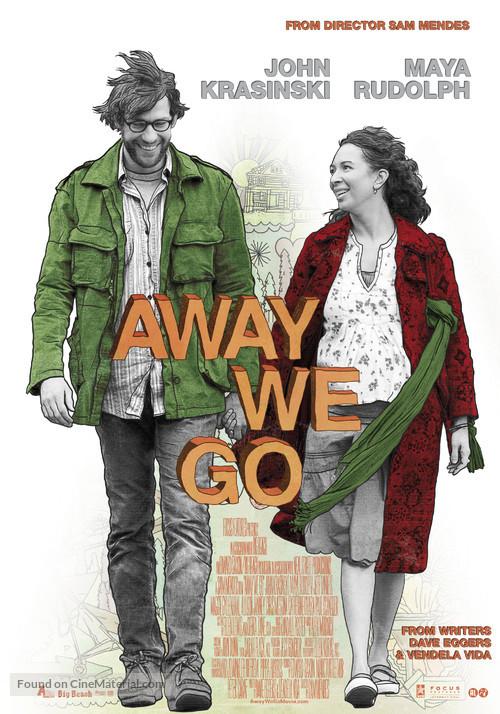 Away We Go - Dutch Movie Poster