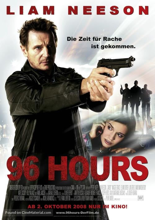 Taken - German Movie Poster