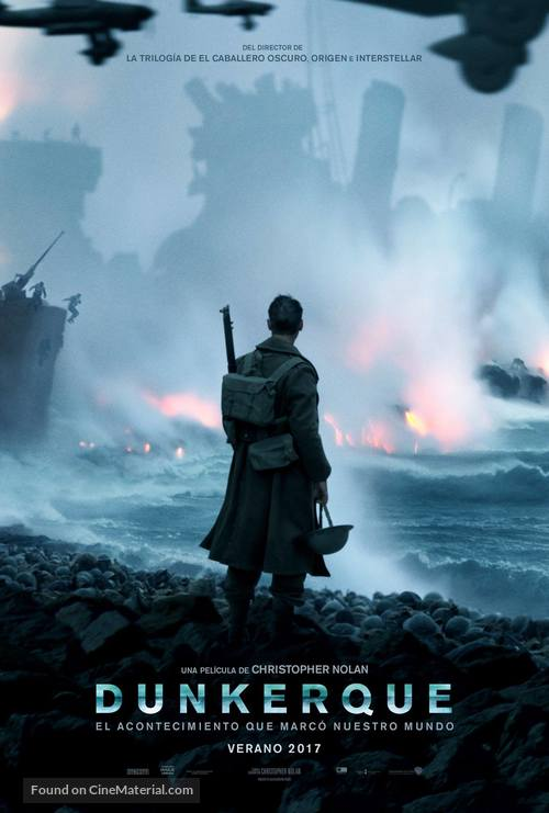 Dunkirk - Spanish Movie Poster