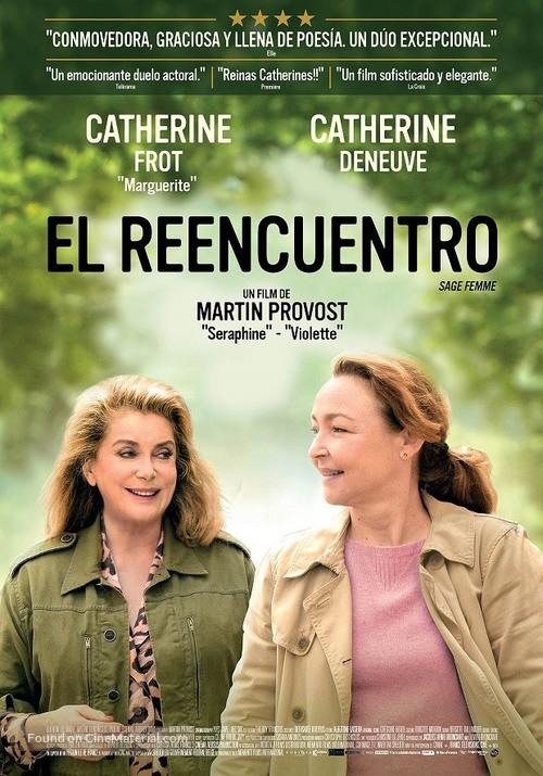 Sage femme - Argentinian Movie Poster