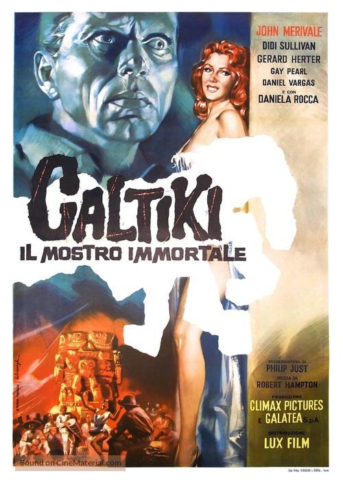 Caltiki - il mostro immortale - Italian Movie Poster