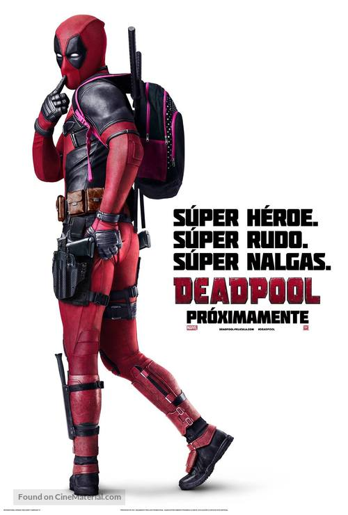 Deadpool - Argentinian Movie Poster