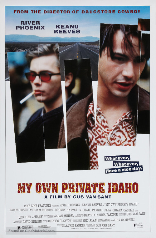 My Own Private Idaho - Movie Poster