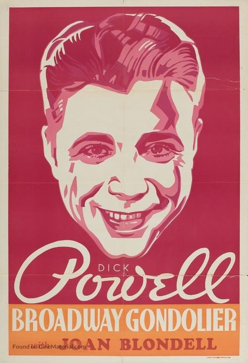 Broadway Gondolier - Movie Poster