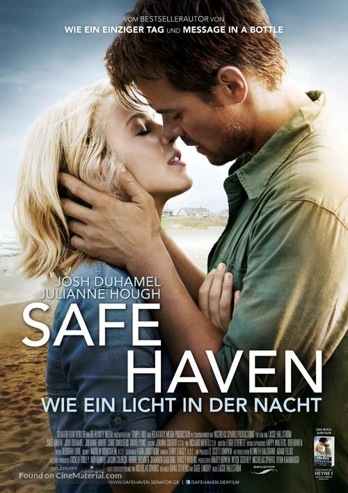Safe Haven - German Movie Poster