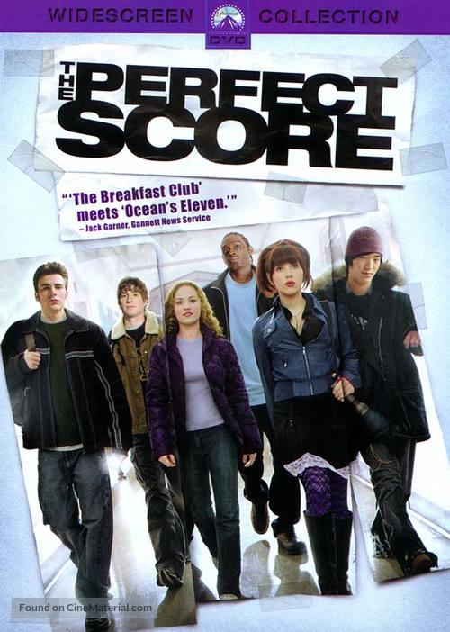 The Perfect Score - DVD movie cover