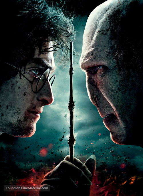 Harry Potter and the Deathly Hallows: Part II - Key art