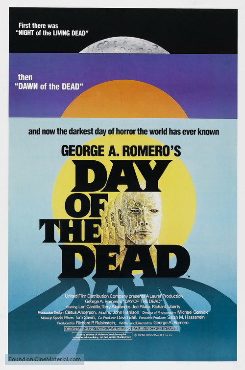 Day of the Dead - Movie Poster