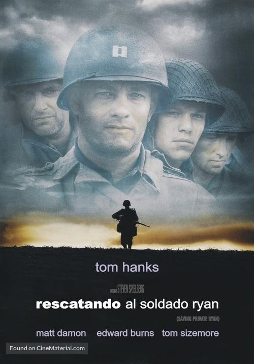 Saving Private Ryan - Argentinian Movie Poster