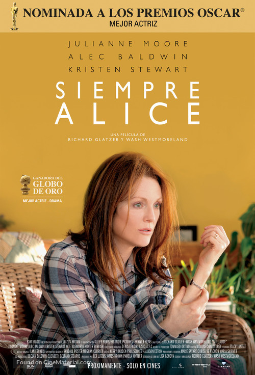 Still Alice - Argentinian Movie Poster