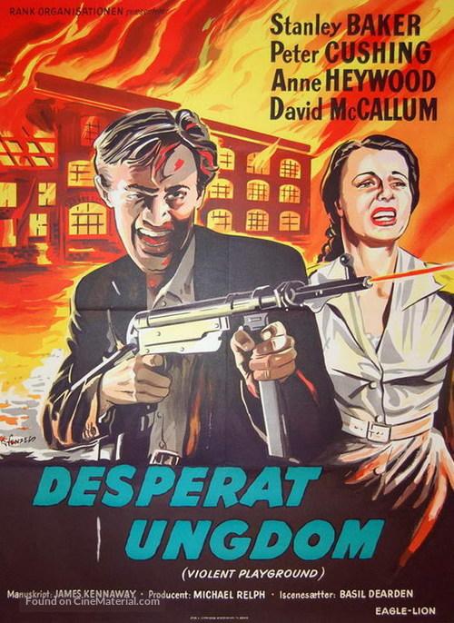 Violent Playground - Danish Movie Poster