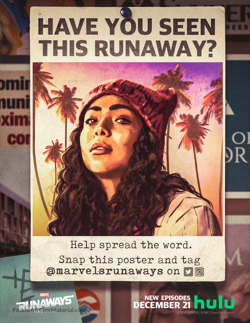 """Runaways"" - Movie Poster"