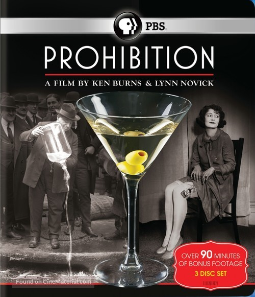 """Prohibition"" - Blu-Ray movie cover"