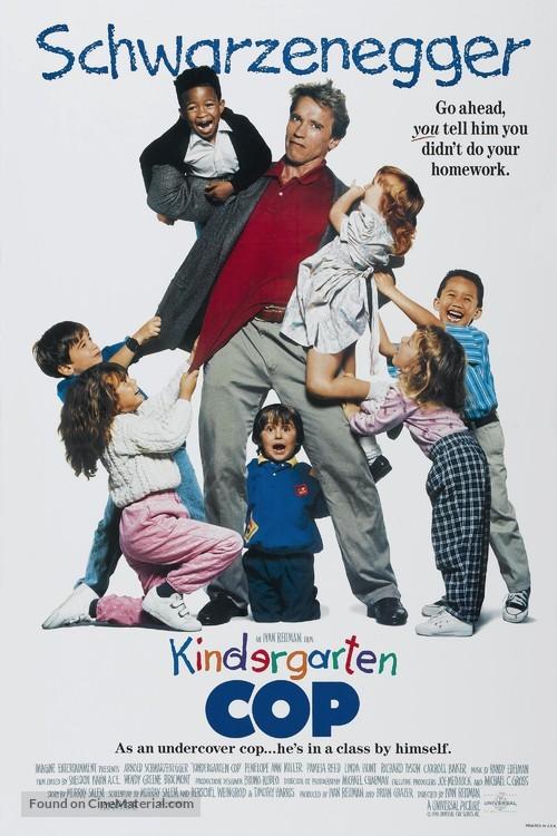 Kindergarten Cop - Movie Poster