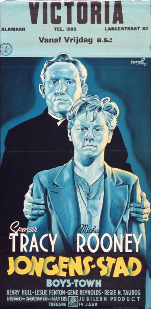 Boys Town - Dutch Movie Poster