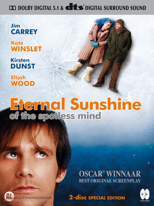 Eternal Sunshine of the Spotless Mind - Dutch Movie Cover