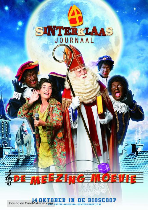 Sinterklaasjournaal de meezingmoevie - Dutch Movie Poster