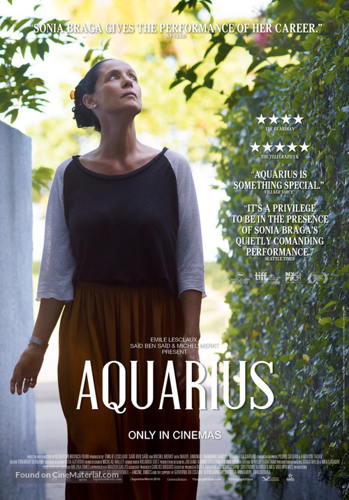 Aquarius - Australian Movie Poster