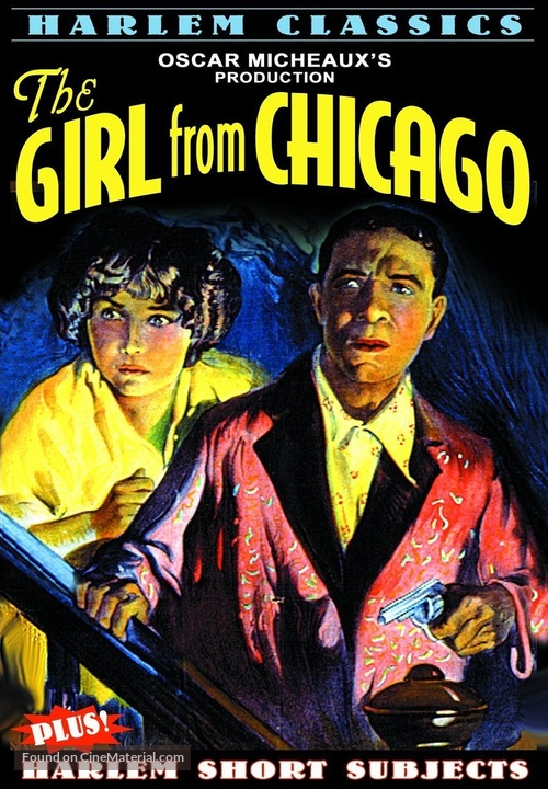 The Girl from Chicago - DVD movie cover