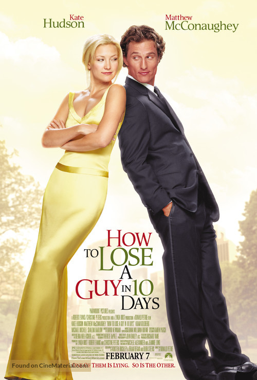 How to Lose a Guy in 10 Days - Movie Poster