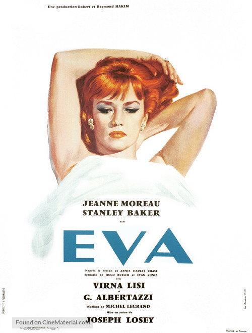 Eva - French Movie Poster