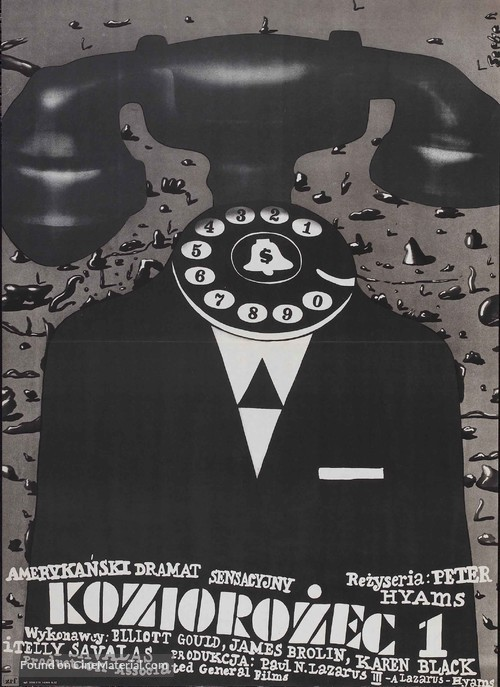 Capricorn One - Polish Movie Poster