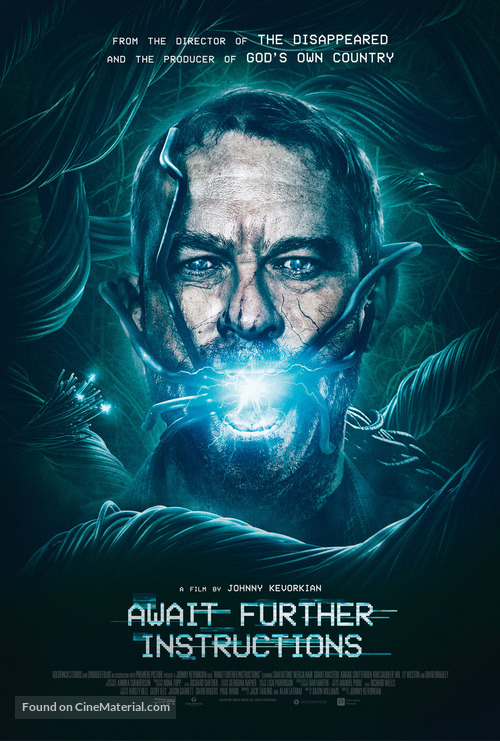 Await Further Instructions - British Movie Poster
