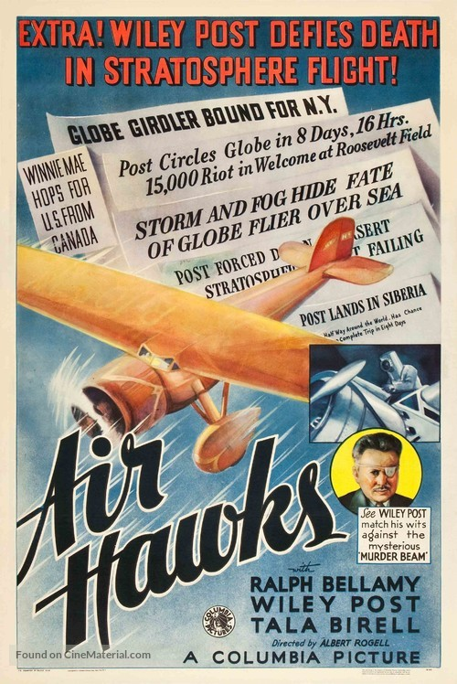 Air Hawks - Movie Poster