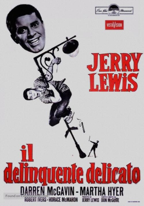 The Delicate Delinquent - Italian Theatrical movie poster