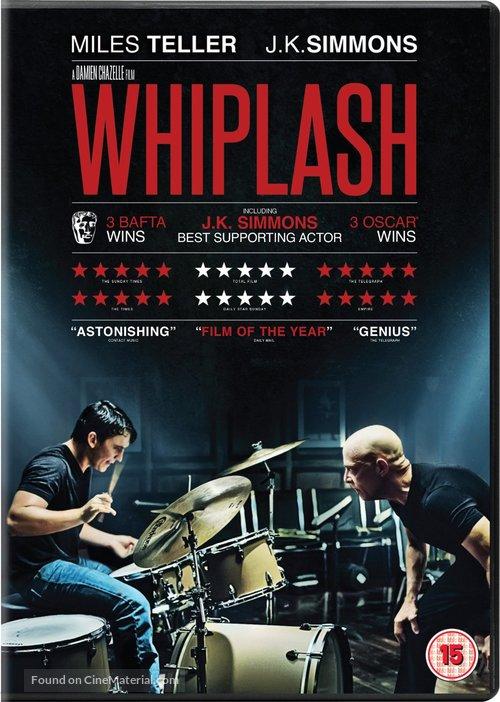 Whiplash - British Movie Cover