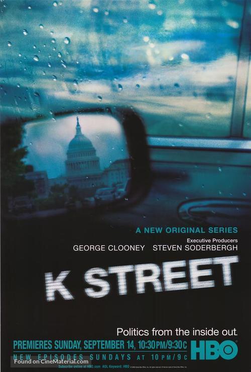 """K Street"" - Movie Poster"
