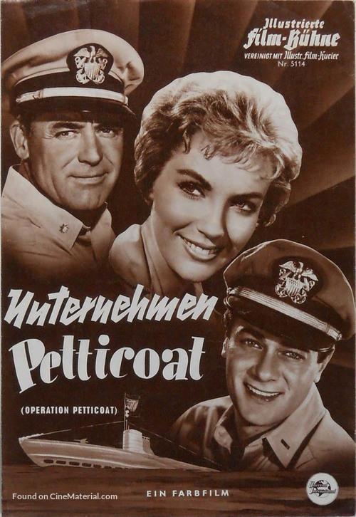 Operation Petticoat - German poster