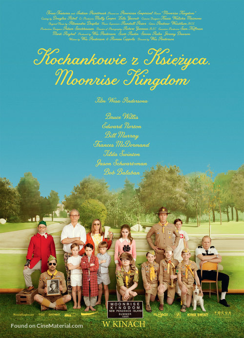 Moonrise Kingdom - Polish Movie Poster